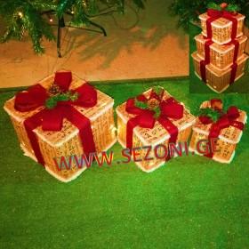 დეკორატიული სასაჩუქრე ყუთი (18SETKB25L)